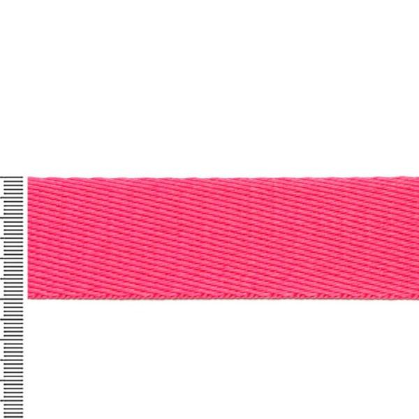 Alça chique pink largura de 30 mm 01 metro