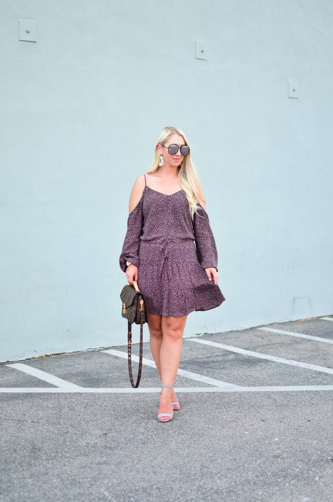 Paige Cold Shoulder Dress