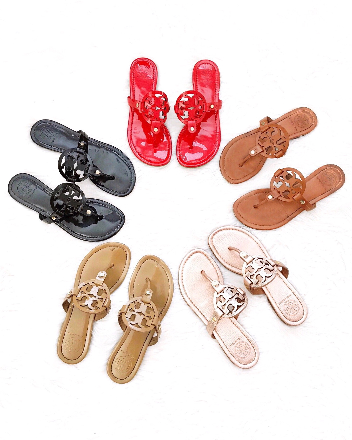 cae389d40ae5 Tory Burch Miller Sandals  50 off (Most colors included ...