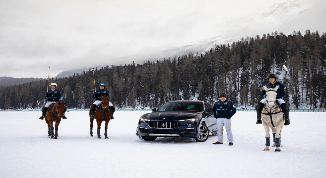 Maserati Winter Experience al via a St. Moritz