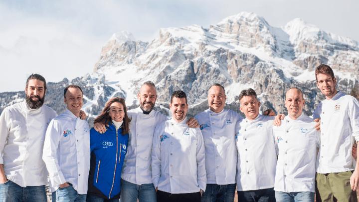 """La """"Valanga Azzurra"""" dei ristoratori di Cortina"""