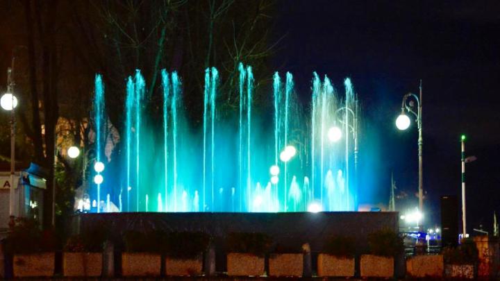 Tornano le Fontane Luminose: appuntamento a Santa Maria Maggiore