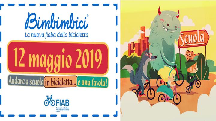 Domenica 12 maggio torna Bimbimbici nelle piazze di tutta Italia con FIAB