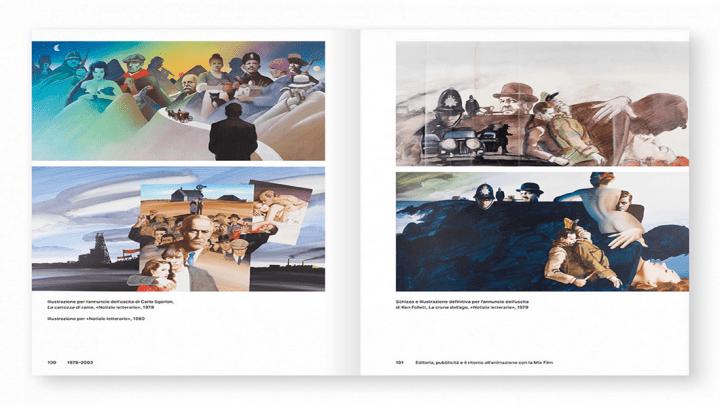 Giovanni Mulazzani: l'illustrazione al centro