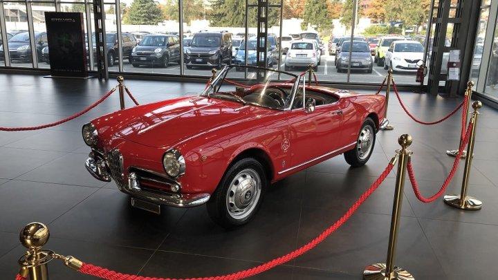 Omaggio all'Alfa Romeo al Mirafiori Motor Village di Torino