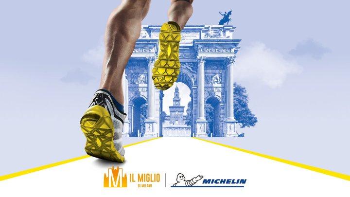 Miglio di Milano: manifestazione sportiva dall'Arco della Pace al Castello Sforzesco targata Michelin