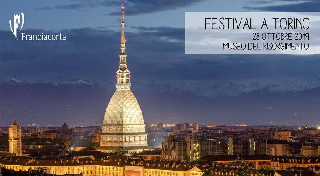 Festival Franciacorta a Torino 28 Ottobre 2019