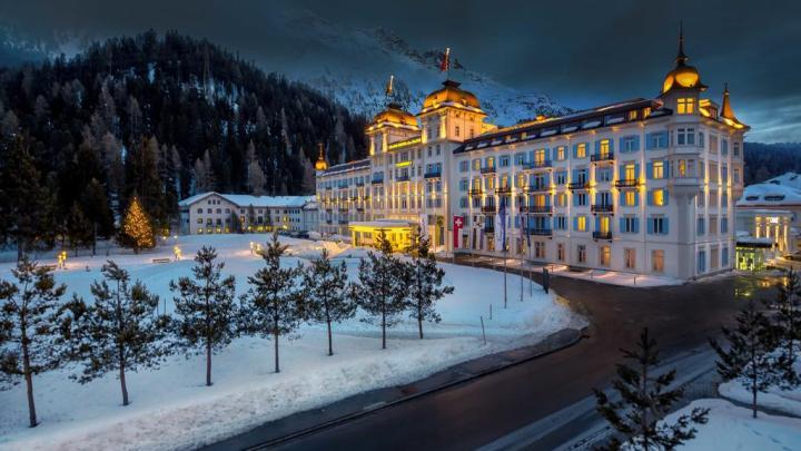 Capodanno con i droni a Saint Moritz