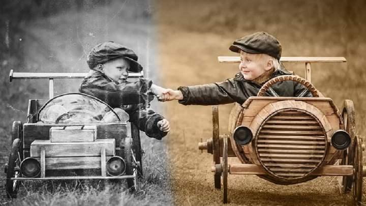 Nuova vita per le foto vecchie e danneggiate