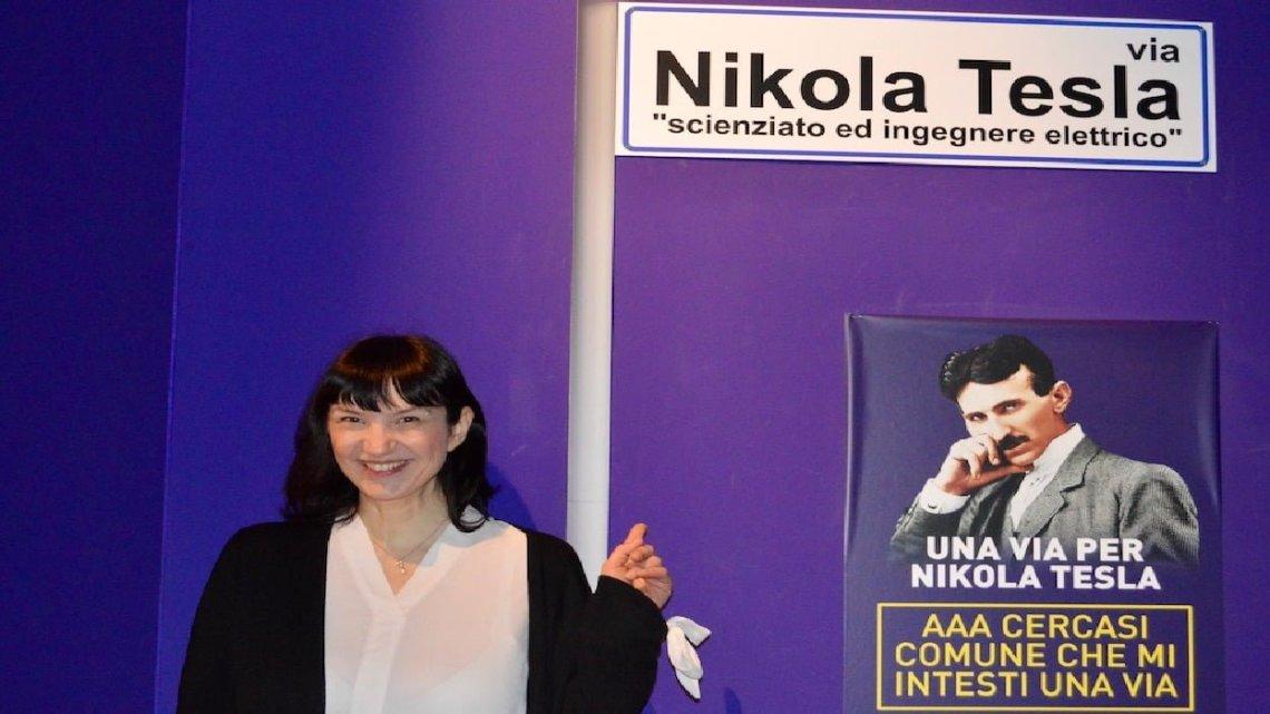 Intitolare una strada a Nikola Tesla: la pronipote cerca in comune disponibile