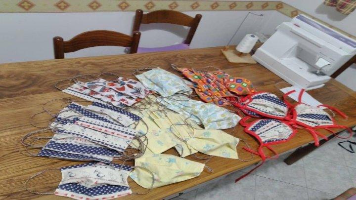 Arona Lago Maggiore – Le Sarte e Aziende producono mascherine e i volontari le distribuiscono