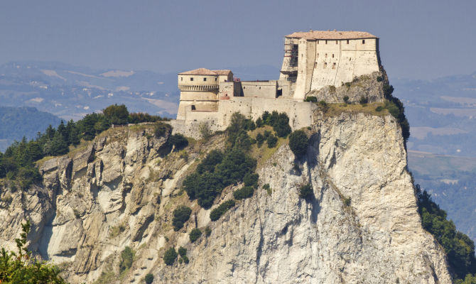 La grande rocca di San Leo