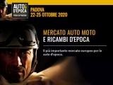 Auto e moto d'epoca 2020 a Padova