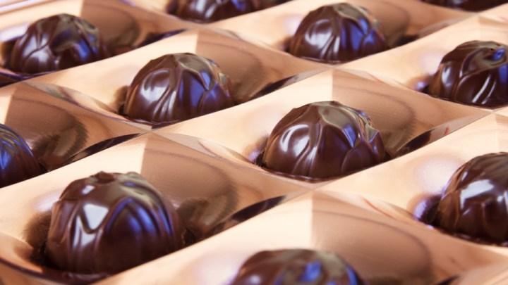 Il cioccolatino alla pancetta di Piacenza
