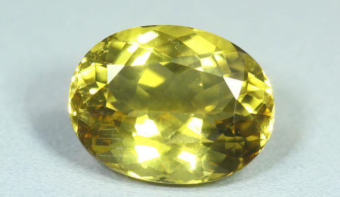 Il magico mondo delle pietre preziose: Berillo giallo
