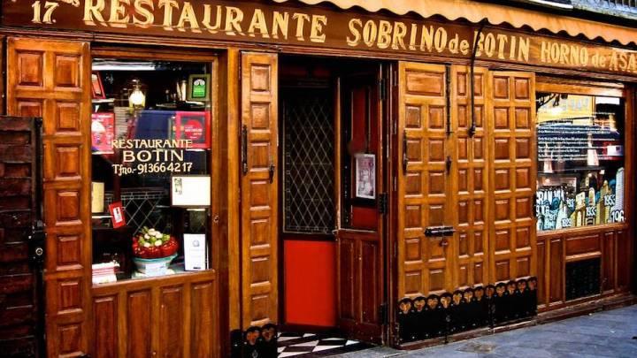 Madrid: i ristoranti diventano patrimonio storico