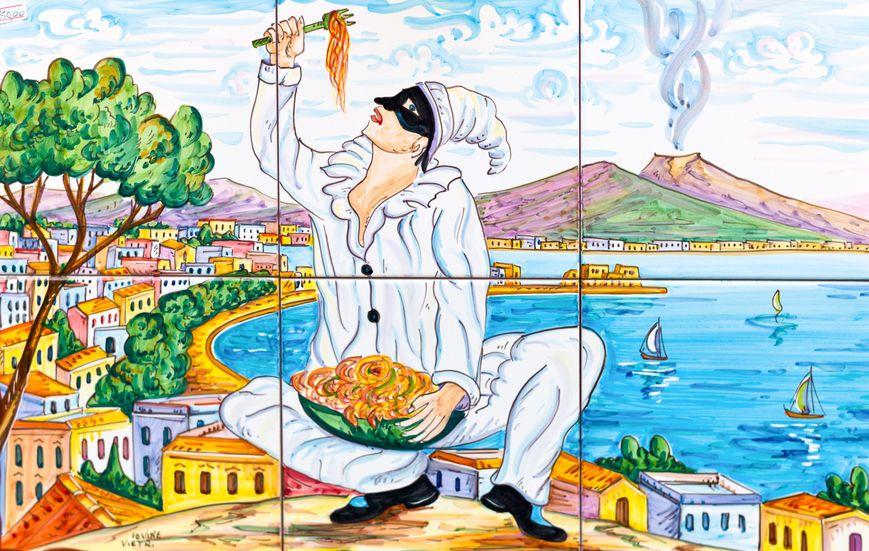 Pulcinella, tutti i sorrisi di Napoli