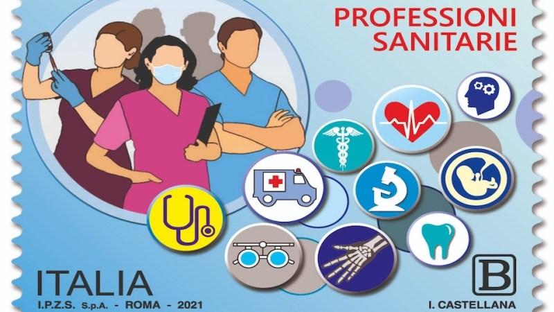 Un francobollo per ringraziare e fissare nella memoria  tutte le professioni sanitarie
