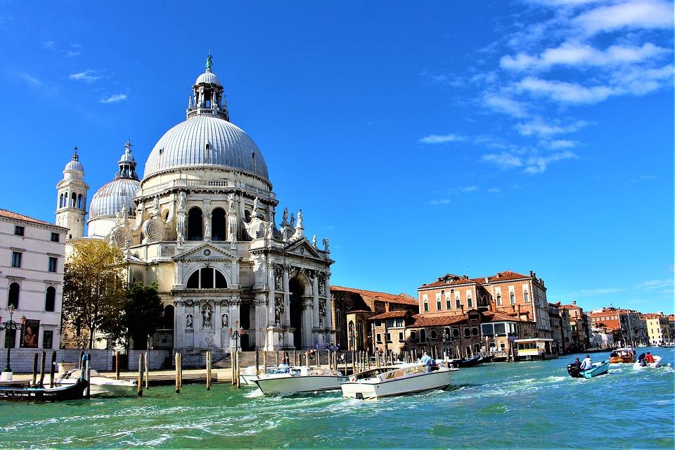 La chiesa della Salute di Venezia