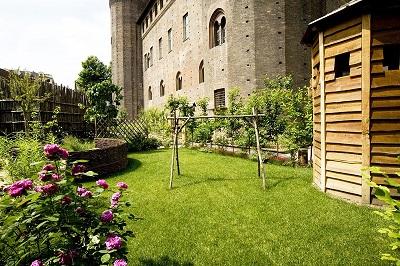 Il giardino medievale di Palazzo Madama