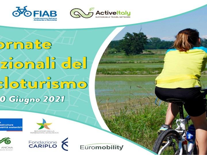 Prima edizione delle Giornate Nazionali del Cicloturismo il 19 e 20 giugno 2021