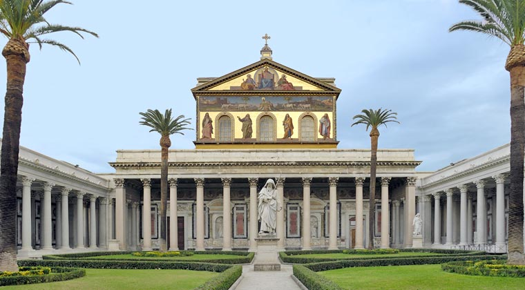 San Paolo Fuori Le Mura a Roma