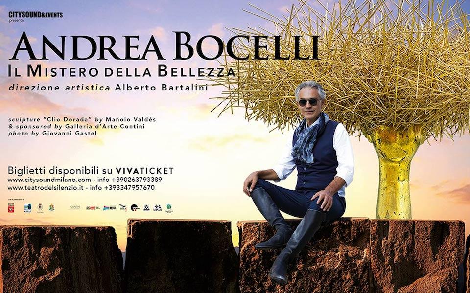Andrea Bocelli: il concerto evento a Lajatico con la grande danza