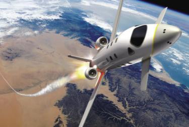 EADS rocketplane design