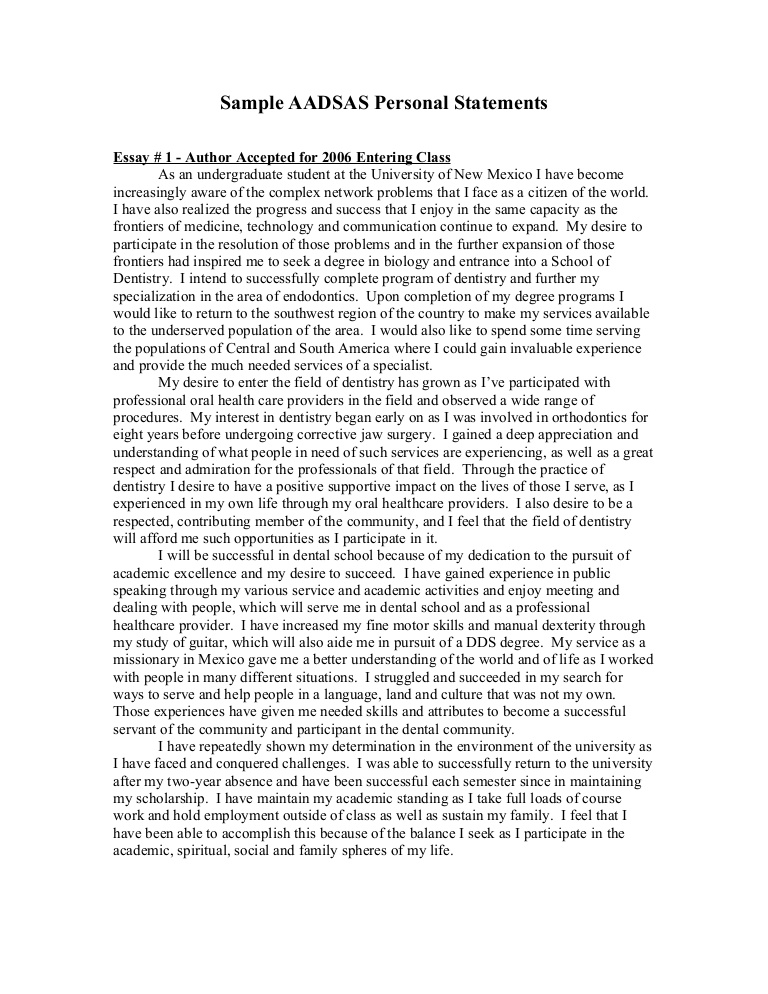 Sample Grad School Essays