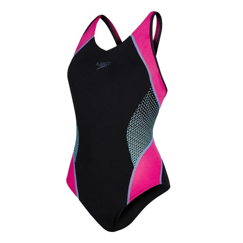 598538dc443dcf SPEEDO FIT SPLICE MUSCLEBACK ROZE - Personal Swimming