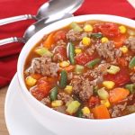 Hamburger Veggie Soup