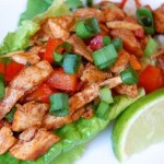 Chipotle Chicken Lettuce Wrap