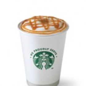 A caramel machiato is a very sweet drink!