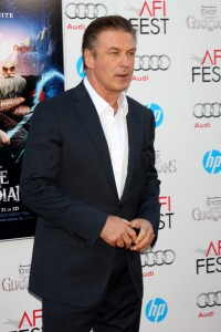 Alec Baldwin looking very handsome after going cold turkey on sugar.