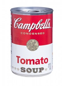 How much sugar does tomato soup have in a serving?