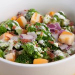 Bacon and Ranch Broccoli Salad
