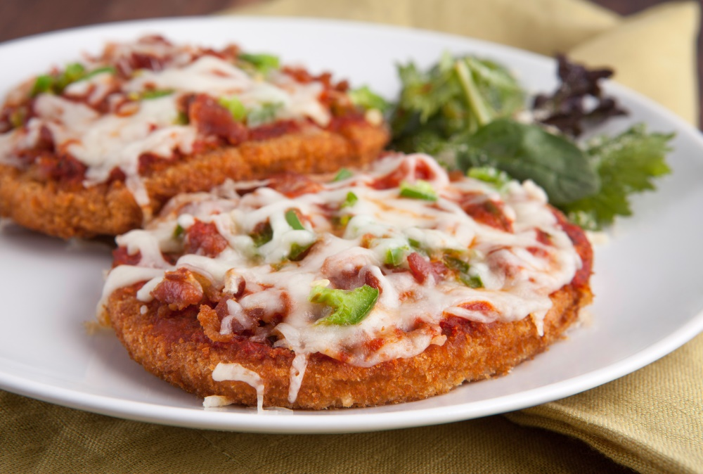 Lose weight without spending hours in the gym and eating delicious foods like Chicken Parmesan.