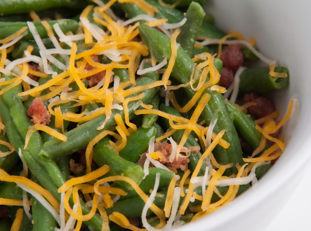 Weight loss made easy with Personal Trainer Food and southern Smothered Green Beans.
