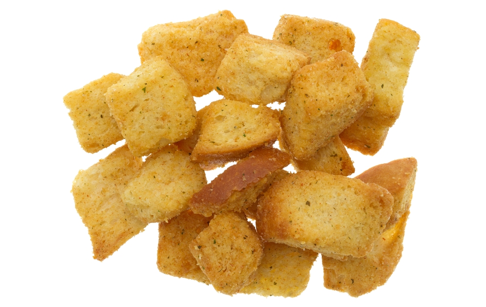 Most croutons are just stale old bread; Personal Trainer Food can help you avoid this trap.