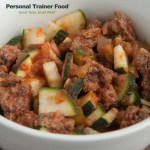 Mexican Zucchini Beef