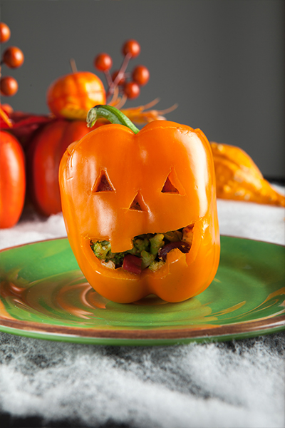Pin this: Try this Personal Trainer Food low-carb meal on Halloween; it's so delicious that you won't crave the candy!