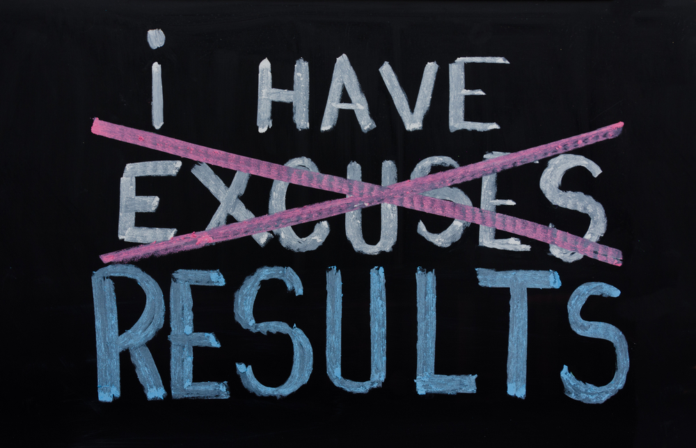 There are no excuses, only possibilities with Personal Trainer Food.
