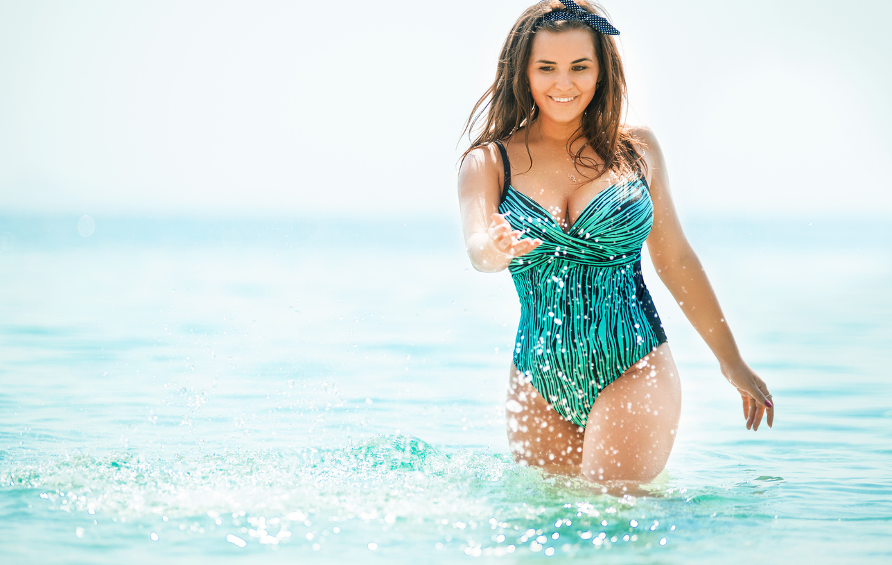 Don't shy away from this year's body-positive swimsuit trends; check them all out! #NOFOMO