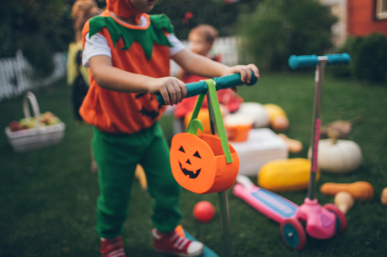 Most kids are willing to part with all or most of their candy in exchange for a toy, game, or outing.