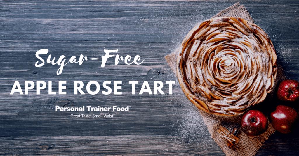 Sugar-Free Apple Rose Tart