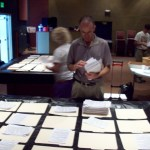 Volunteers Sorting Florida Personhood ProLife Petition