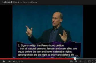 Pastor Jeff Steffel ProLife Personhood Sermon