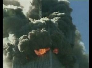 World Trade Center Burning