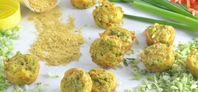 Dairy Free Riced Broccoli Egg Muffins