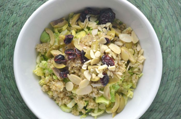 9 Passover Salad Ideas - Shaved Brussel Sprouts